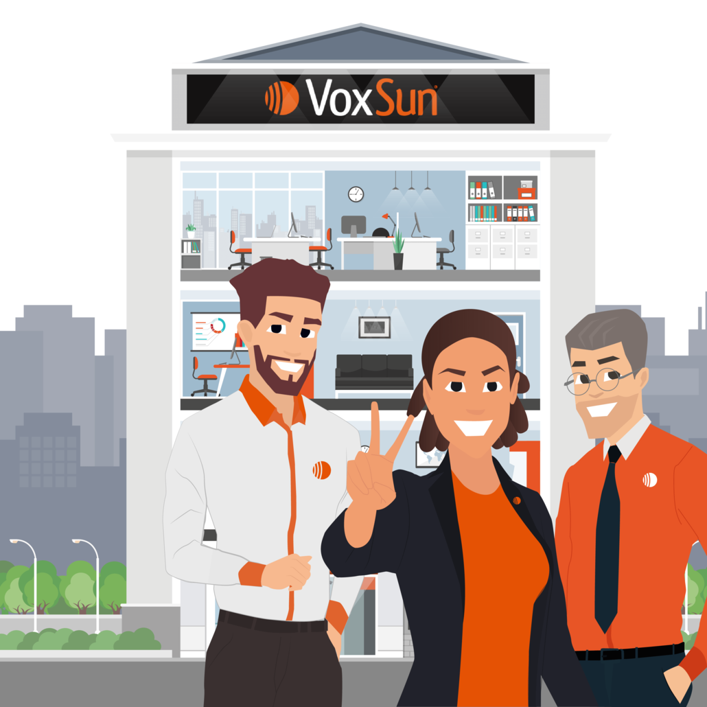 VoxSun connects you to its Could-based business phone system in the USA, Canada & anywhere in the world.