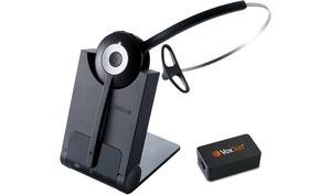 VoxSun Jabra 920 DECT wireless headset with Yealink EHS36